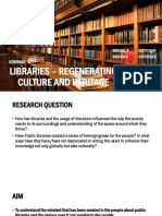 LIBRARIES – REGENERATING CULTURE AND HERITAGE.pptx
