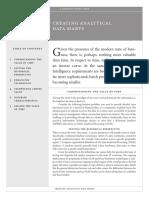 creating analytical data marts