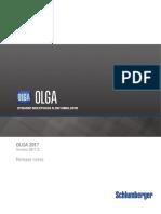OLGA 2017.2.0 Release notes
