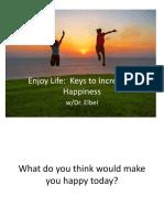 happiness slides
