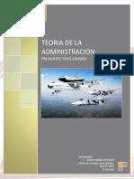 Cuestionario de Teoria de la Administracion