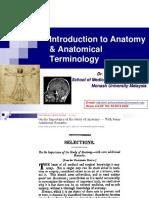 GA1-Anat  Anat Terminology