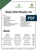 Bodas Hotel Paradise Inn