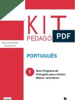 kit uma leitura do novo programa de português
