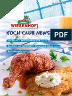 Wiesenhof Kochclub Nr. 30 | August 2008