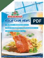 Wiesenhof Kochclub Nr. 33 | August 2009