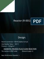 Reactor (R-001)