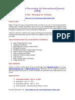 Signal _ Image Processing an International Journal (SIPIJ).Docx