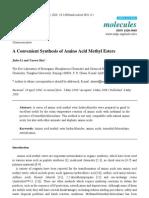 Amino Acid Esters