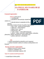 Semiologia Pielii, Mucoaselor Si Fanerelor