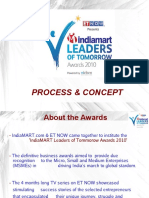IndiaMART Leaders of Tomorrow Awards 2010