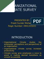 Organizational Climate Survey_preeti