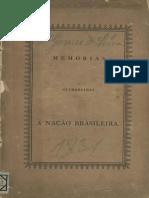 Memorias offerecidas á Nação Brasileira - Chalaça