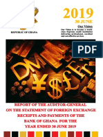 Report of the Auditor General on the Statement of Foreign Exchange Receipts and Payments of the Bank of Ghana