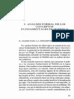 Unidad II-2. N. Matti. Análisis formal de los conceptos fundamentales de Hohfeld. págs. 87-113