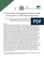 Efecto de tipo de sombra e intensidad del cultivo sobre el rendimiento y la calidad del café (Coffea arabica L.) y su valoración ecológica en Masatepe, Nicaragua