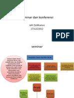 1711221012 - jefri Zulkhairun - Seminar dan konferensi