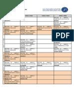 Emploi du temps du S4 Economie & Gestion (19-20)