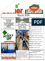 3.2020 March Kids Corner Newsletter