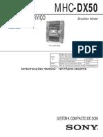 MHC-DX50 ver. 1.3