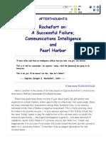 Joseph Rochefort on the Pearl harbor Attack