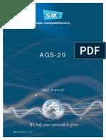 DataSheet AGS20_MN.00329.E - 007 - Siae