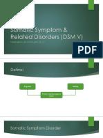 Somatic Symptom & Related Disorders (DSM V.ppt