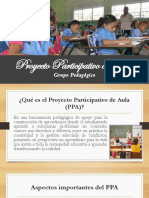 Proyecto Participativo de Aula
