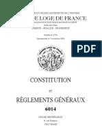 Constitution et statuts GLDF 2014