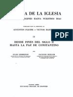 Fliche Augustin - Martin Victor, Historia de La Iglesia 02