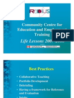 Radius Life Lessons Power Point Handouts Pages