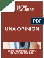 """UNA OPINION SOBRE """"LA MIRADA TURBIA""""_Ester de Izaguirre"""