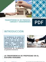 TRANSFERENCIA DE PREDIOS, CARGAS Y GRAVÁMENES.pptx