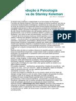 Scarpato - Introdução à Psicologia Formativa de Stanley Keleman