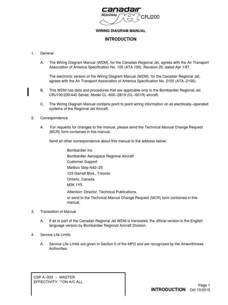 [SCHEMATICS_4FD]  INTRO   Aviation   Aircraft   Canadair Aircraft Wiring Diagram      Scribd