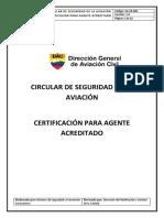 SA-CR-002 Certificación para Agente Acreditado