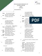 teste 3 10F GV Farsa de Inês Pereira