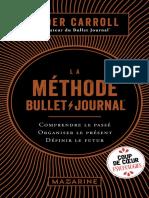 La methode Bullet Journal - Ryder Carroll.pdf