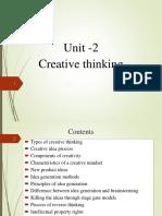 creative thinking Unit -2 IDT(1).pptx