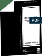 Luis Alberto Petit Guerra - El Estado Social. Los contenidos mínimos constiutcionales de los derechos sociales