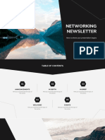Networking Newsletter by Slidesgo.pptx