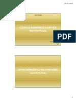 Trabalho sobre Românico e Gótico - Rodrigo Ferreira 7ºF