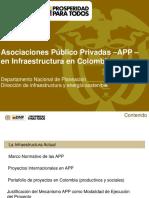 DNP - APP en Infraestructura en Colombia
