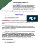 INTRODUCCION E HISTORIA DE LA CRIMINALISTICA - UNIDAD 1