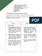 Guia de abordagem - Iniciação ao processo do filosofar - Marlon Fratane