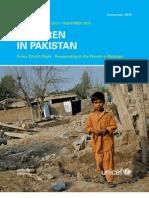 Pakistan Dec 10 Progress Report
