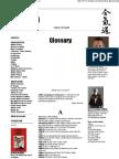 Aikido Glossary - Dictionar
