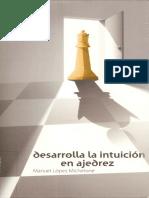 desarolla la intuicion en ajedrez