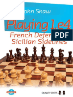Playing 1.e4 - French Defence a - John Shaw PDF .pdf
