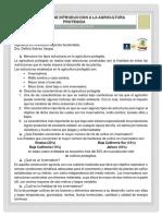 Cuestionario de introduccion a la agricultura protegida